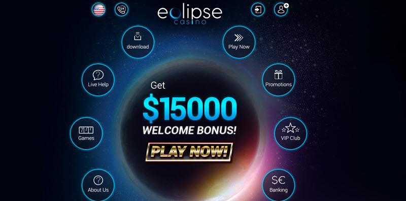 Eclipse Casino No Deposit Bonus Codes - Get $60 Free Chip
