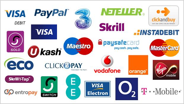 online casino deposit methods