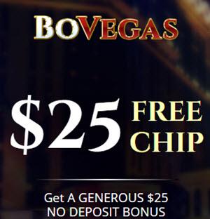 Bovegas Casino no deposit bonus codes 2019 - $70 Free Chip