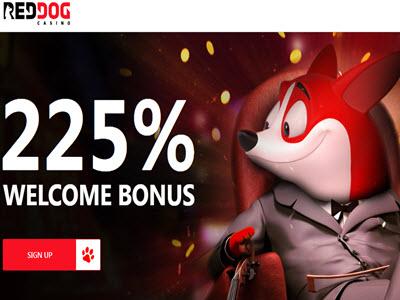 Red Dog Casino no deposit bonus codes 2019 - 20 Free Spins