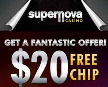 SuperNova Casino ($50 Free)