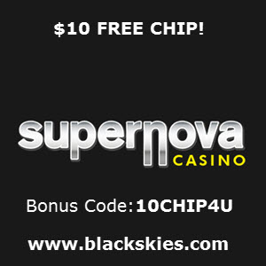 Supernova Casino No Deposit Bonus Codes 2019!Get 20 FREE Chip!