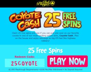 Coyote cash slots