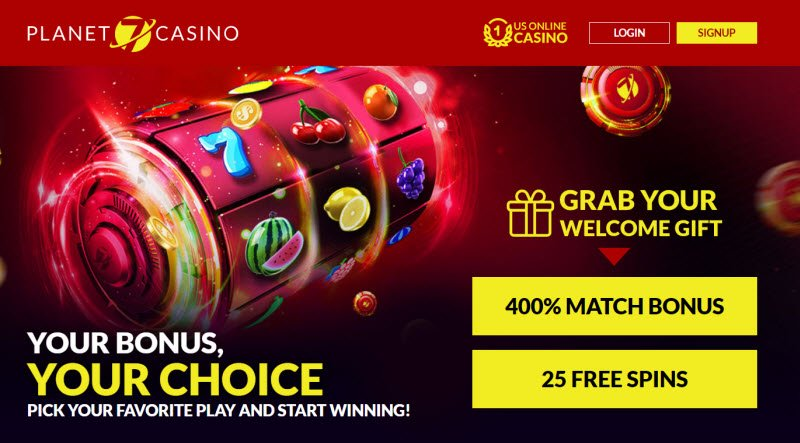 Planet 7 Casino No Deposit Bonus Codes 25 Free Spins