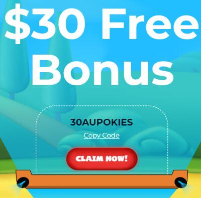 Aussie Play Casino ($30 Free)