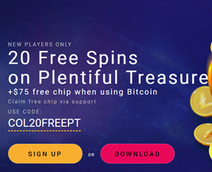 Crypto Reels Casino (20 Free Spins)