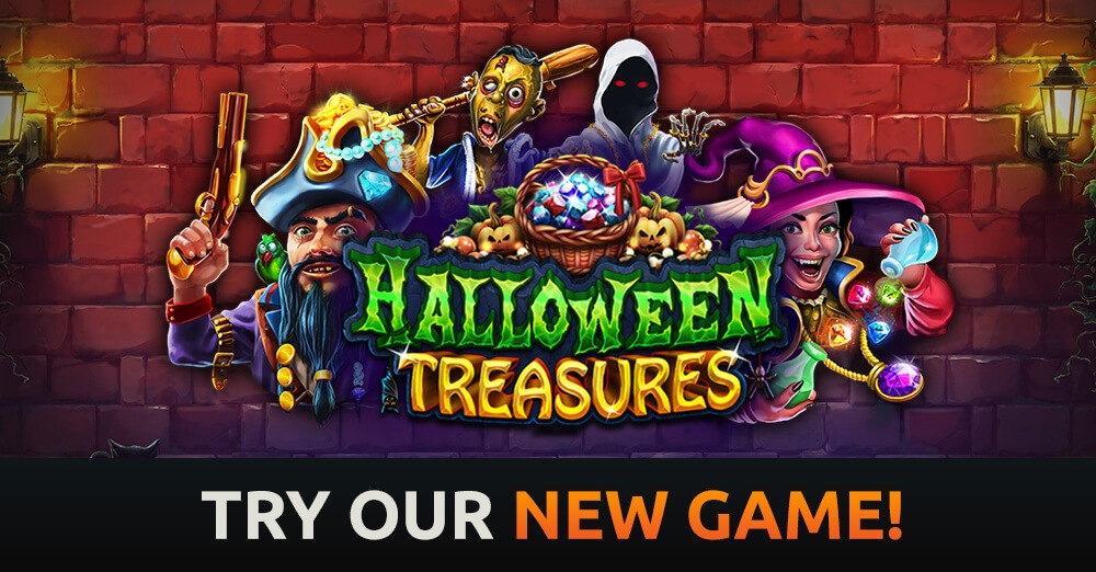 Halloween Treasures Slot Game