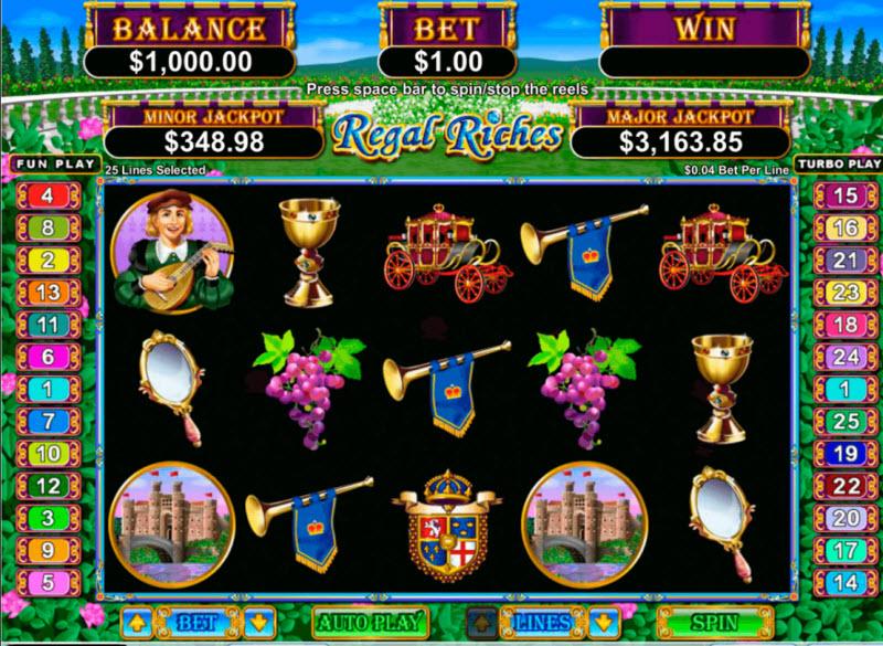 Ancient Regal Riches Slot
