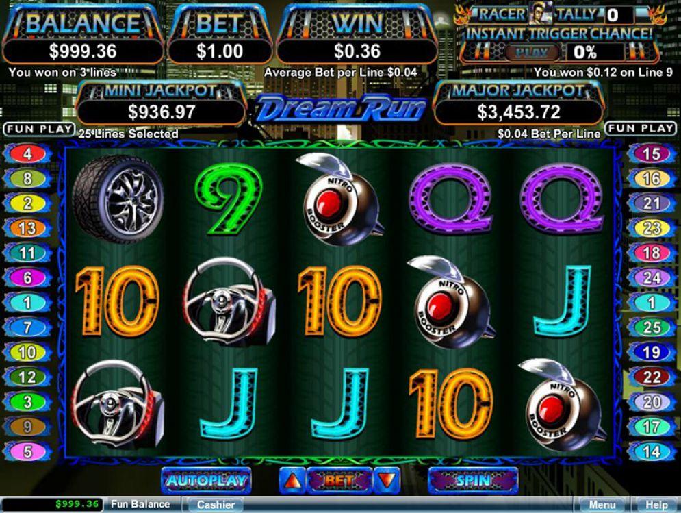 Dream Run Slot Game