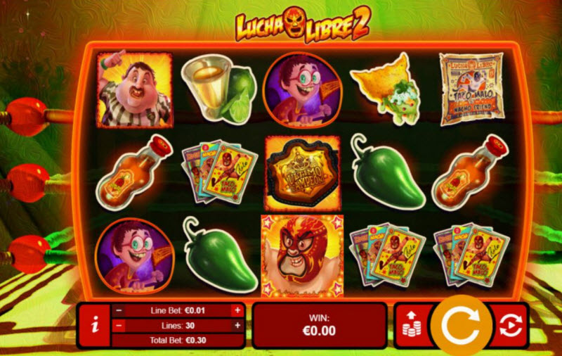 Lucha Libre Video Slots