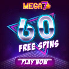 MEGA 7S CASINO - (60 Free Spins)