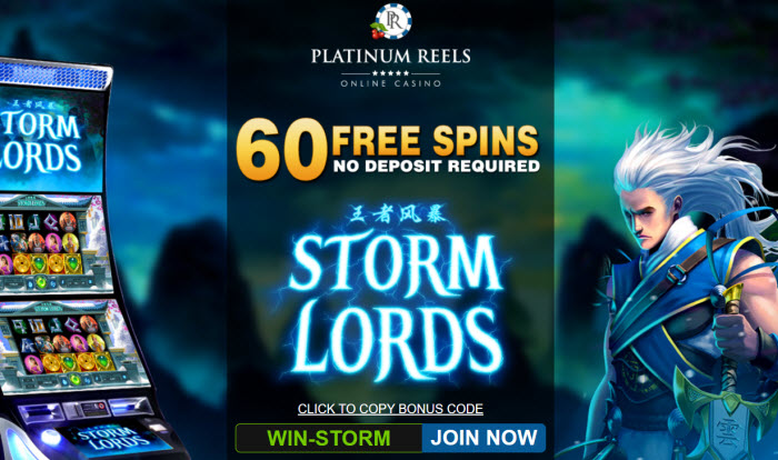 Storm Lords Slot (60 Free Spins)