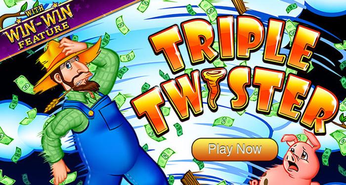 Triple Twister Slot Machine