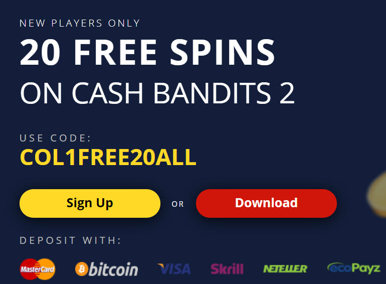 All Star Slots Casino No Deposit Bonus 20 Free Spins
