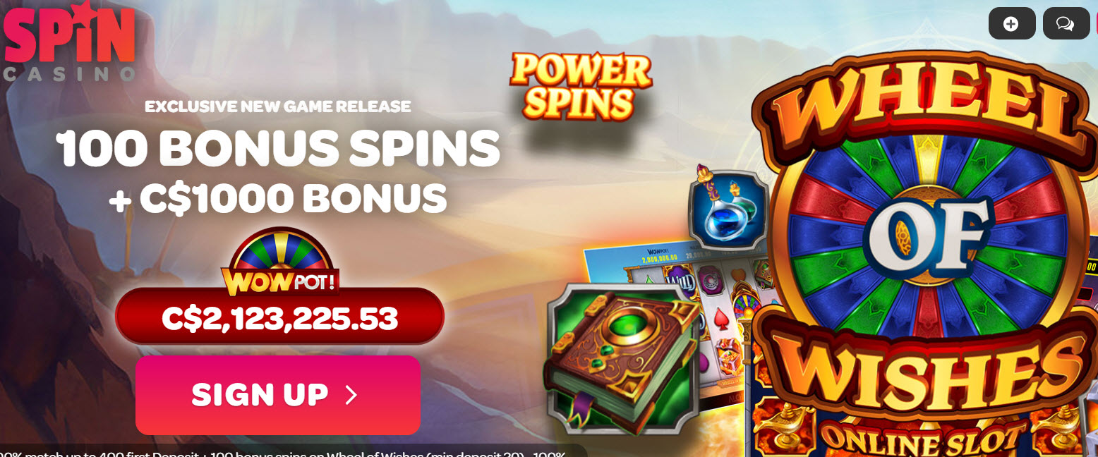 SPIN CASINO - (100 Free Spins)
