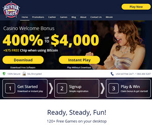 All Star Slots Casino (50 Free Spins)