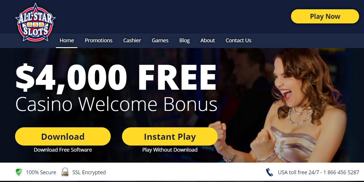 All Star Slots Casino No Deposit Codes