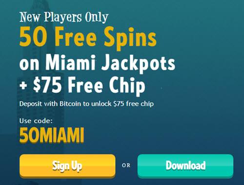 Manhattan Slots Casino - (50 Free Spins)