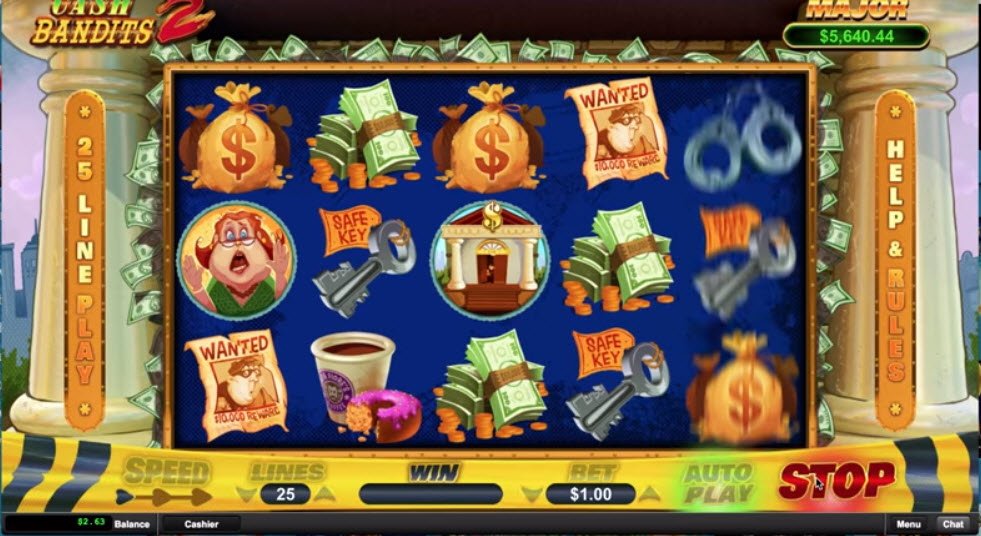 Cash Bandits 2 Slot