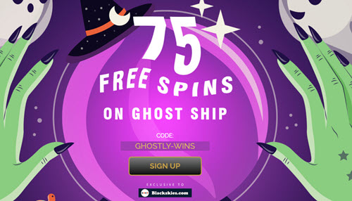 Ghost Ship Slot (75 Free Spins)
