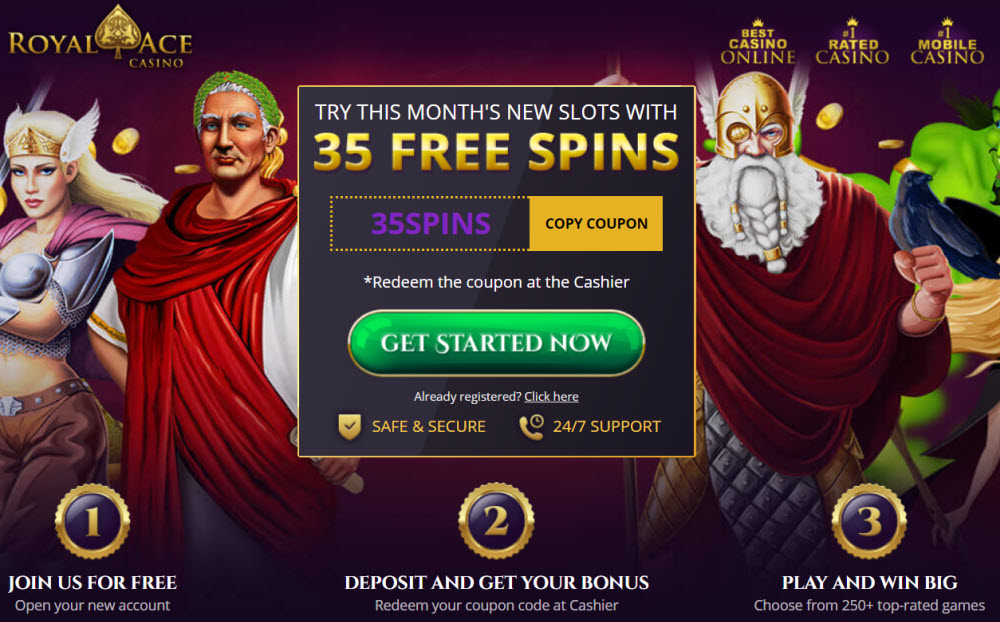 Royal Aces No Deposit