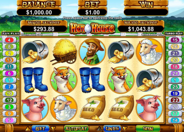HenHouse Slot