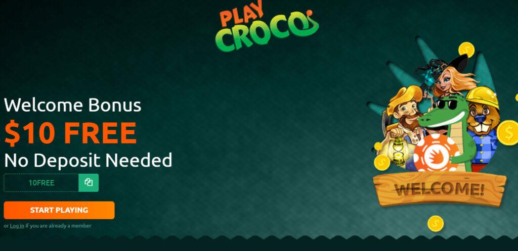Play Croco Casino ($10 Free)