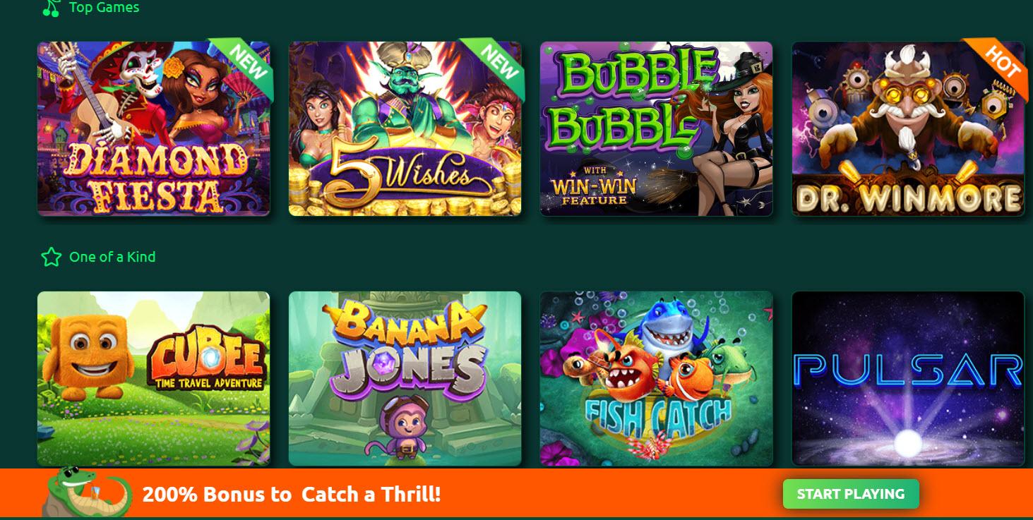 Play croco casino slots