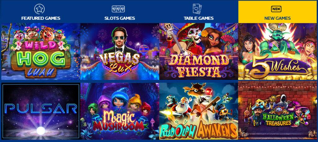 Yabby Casino Games