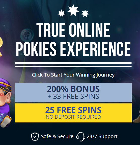 True Blue Casino (25 Free Spins)