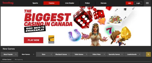 Bodog Casino Canada