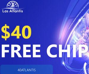 Las Atlantis Casino (45 Free Spins)