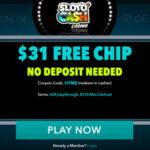Slotocash no deposit bonus