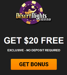 Desert Night Casino ( $20 Free )