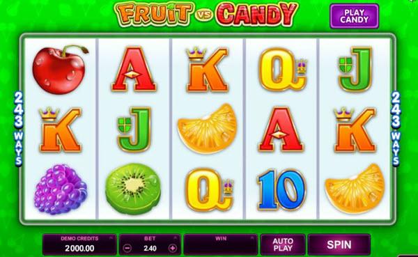 fruit vs candy slot