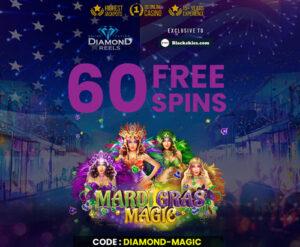Diamond Reels Casino (60 Free Spins)