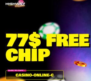 HighWay Casino (77 Free Chips)