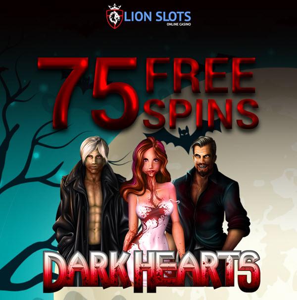 Dark Hearts Slot no deposit bonus