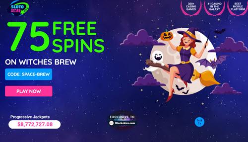 Sloto Stars Casino no deposit bonus codes 75 Free Spins